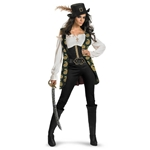 Pirates Of The Caribbean - Angelica Deluxe Adult Costume 38-800263
