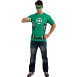 Green Lantern (Male) T-Shirt Adult Costume Kit 38-801535