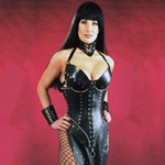 The Majestrix Hard Leather Corset 39-420