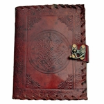 Celtic Leather Journal - Blank Book - 5 X 7 Inches