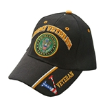 U.S. Army Veteran Black Baseball Cap