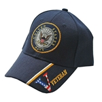 U.S. Navy Veteran Blue Baseball Cap