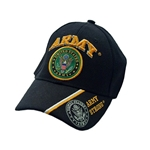 U.S. Army Black Baseball Cap