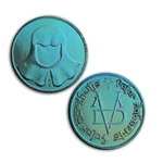 Faceless Man Coin Niobium 417-FM-NI
