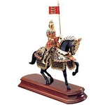 Black Prince Miniature Knight on Horseback MA5501