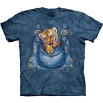 Bengal Tiger Overalls Adult T-Shirt 43-1010750