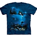 Stormy Night Adult 2X-Large T-Shirt