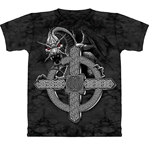 Celtic Cross Dragon Adult 2X-Large T-Shirt 43-1012531