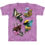 Butterfly Study Adult T-Shirt 43-1013071