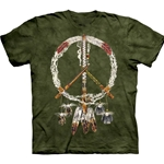 Peace Pipes Adult T-Shirt 43-1014220