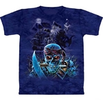 Zombie Pirates Adult T-Shirt 43-1015561