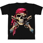 Skull and Cross Muskets Adult T-Shirt 43-1015621