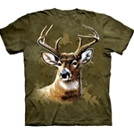 Camo Deer Adult T-Shirt 43-1016180
