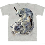 White Wolf Spirit Adult T-Shirt 43-1016231