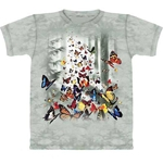 Butterflies Adult T-Shirt 43-1016251