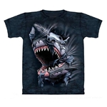 Break Through Shark Adult T-Shirt