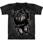 Break Through Wolf Adult Tee Shirt 43-1017381