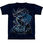 Skull Dragon Adult T-Shirt 43-1020541