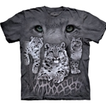 Snow Leopards Adult T-Shirt 43-1030051