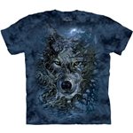 Wolf Tree Adult T-Shirt 43-1030151