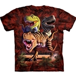 Rex Collage Adult T-Shirt 43-1030250