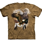 Eagle Shield Adult T-Shirt 43-1030850
