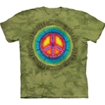 Peace Tie Dye Adult T-Shirt 43-1030900