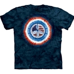 Peace Flag Adult T-Shirt 43-1031120