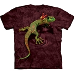 Peace Out Gecko Adult T-Shirt 43-1031190