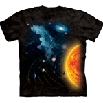 Solar System Adult T-Shirt 2X-Large