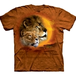 Lion Sun Adult T-Shirt 43-1031410