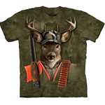 Hunter Buck Adult T-Shirt 43-1031980