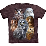 Owls Adult T-Shirt 43-1032140