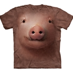 Pig Face Adult T-Shirt 43-1032440