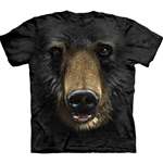 Black Bear Face Youth's T-Shirt 43-1032450