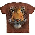 Tiger Face Adult T-Shirt 43-1032510