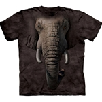 Elephant Face Adult T-Shirt 43-1032600