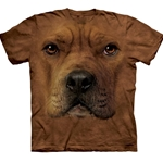 Pitt-Bull Face Adult T-Shirt 43-1032620