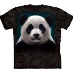 Panda Head Adult T-Shirt 43-1032790
