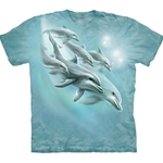 Dolphin Dive Adult T-Shirt 43-1032830