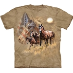 Patriot Horse Adult T-Shirt 43-1032940
