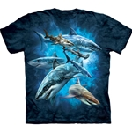 Shark Collage Adult T-Shirt 43-1033040