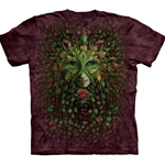 Green Woman Adult T-Shirt 43-1033070