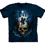 Skull Fairy Adult T-Shirt 43-1033290