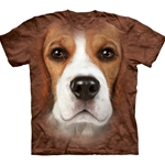 Beagle Face Adult 2X-Large T-Shirt 43-1033300