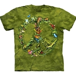 Rainforest Peace Adult T-Shirt 43-1033330