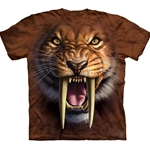Sabertooth Tiger Adult T-Shirt 43-1033380