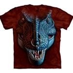 T-Rex Face Adult T-Shirt 43-1033410