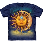 Sun Moon Adult T-Shirt 43-1033520