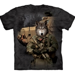 JTAC Lonewolf Adult T-Shirt 43-1033590
